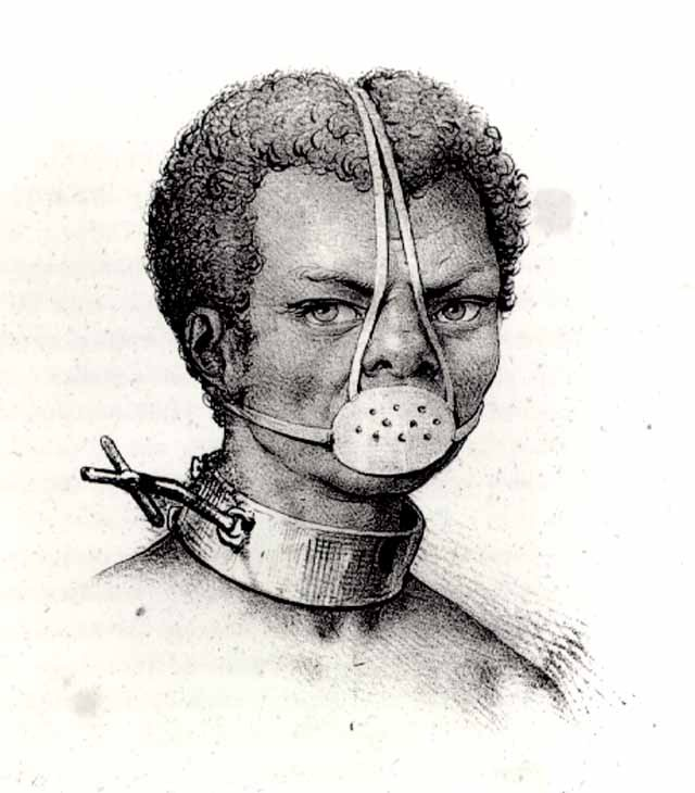 mascara escrava